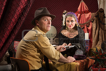 Cursed Man with Fortune Teller