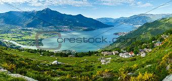 Lake Como view (Italy)