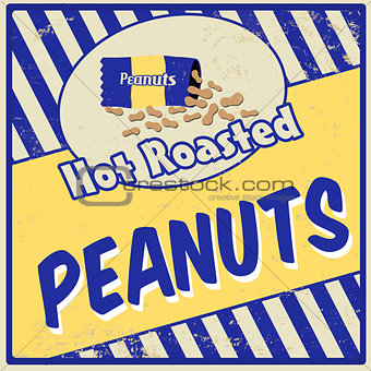 Peanuts vintage poster