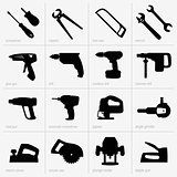 Industrial tool icons