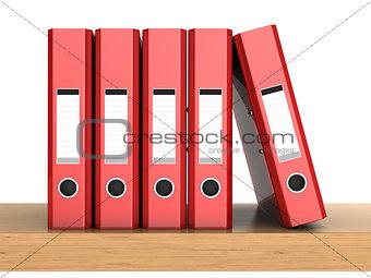 five ring binders