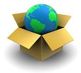 world in box