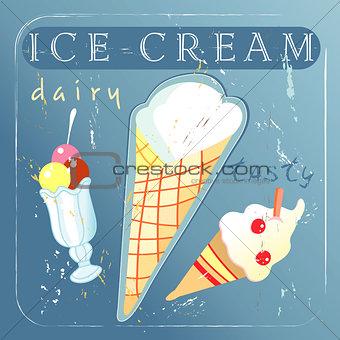 A delicious different ice cream