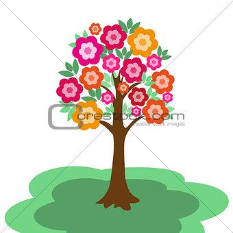 fairy flowering tree