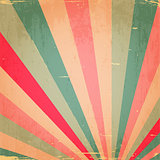 Abstract Colorful Grunge Rays Background