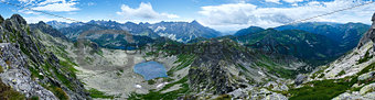 Summer Tatra Mountain panorama, Poland