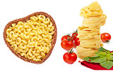 Collection of pasta.