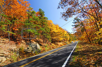 Fall Color Skyline Drive