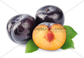 Sweet plums