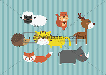Clipart - Animals for Babies