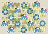 Print Pattern - Elephant Patterns