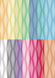 Digital Paper - Diamond Stripes 14 Colors Mixes
