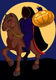 Jack o lantern Halloween symbol