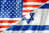 USA and Israel flag