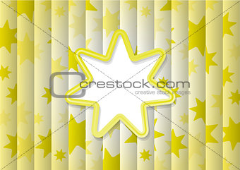 abstract background with yellow sun