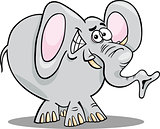 cartoon illustration of elephant