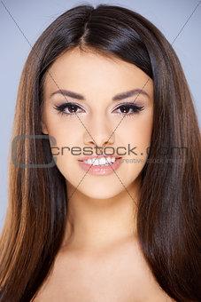 Close Up of beautiful girl