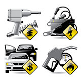 Automobile service icons 2