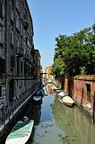 View of canal in Venice.
