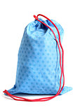 Blue bag for footwear