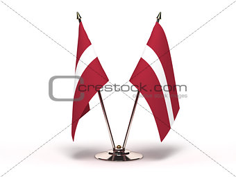 Miniature Flag of Latvia