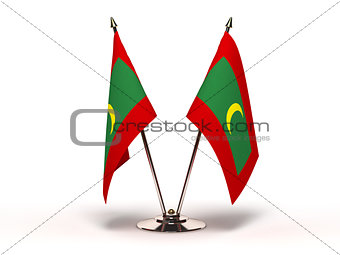 Miniature Flag of Maldives