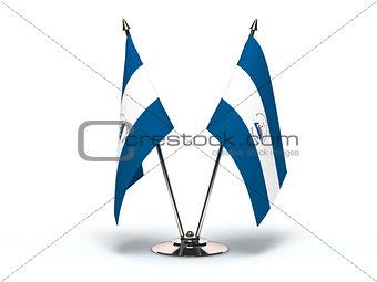 Miniature Flag of Nicaragua