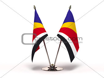 Miniature Flag of Seychelles