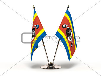 Miniature Flag of Swaziland