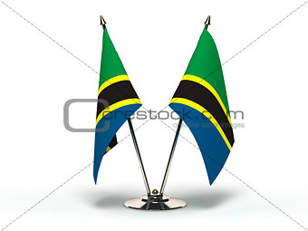 Miniature Flag of Tanzania