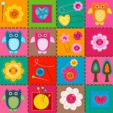 stitch owls