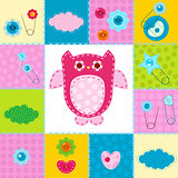 stitched owl