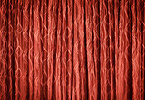Red curtains - background