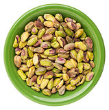 bowl of pistachio nuts