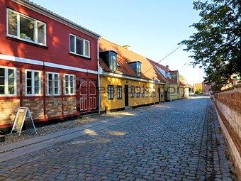 Old danish houses