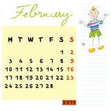 february 2014 kids