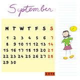 september 2014 kids
