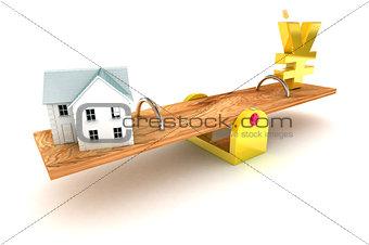 Housing Debt Yen