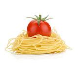 Italian pasta and cherry tomato