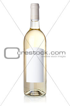 Wine collection - White wine in bottle