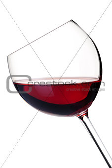 Wine collection - Red wine in glass