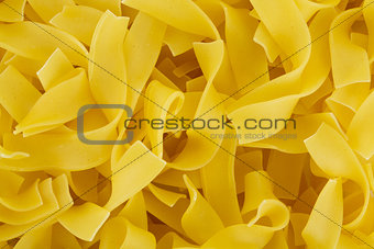 Closeup of pasta