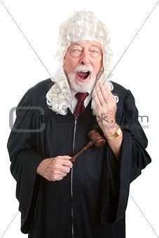 British Judge - Bored