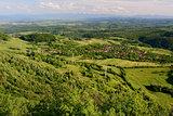 Cozia village