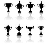 Sport trophies, awards and cups