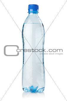 Small bottle of soda water