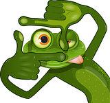 creative frog