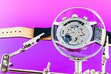 Watch repairing operation