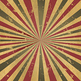 Vintage Burst Background