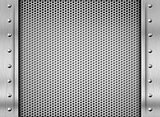 metal texture steel plate background